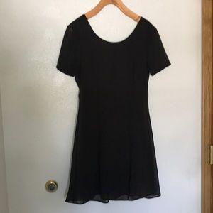 Nasty Gal black party dress